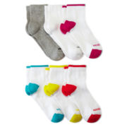 Xersion™ 6-pk. Zone Cushion Quarter Socks