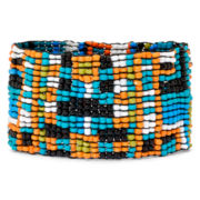 Arizona Multicolor Seed Bead Stretch Bracelet