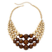 Mixit™ Layered Triple-Strand Necklace