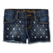 Joe Fresh™ Rhinestone Shorts - Girls 4-14