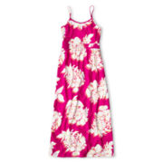 Joe Fresh™ Print Sleeveless Maxi Dress - Girls 4-14