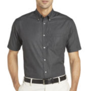 Van Heusen® Short-Sleeve No-Iron Button-Front Shirt