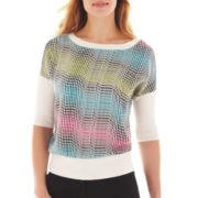 Worthington® 3/4-Sleeve Sweater