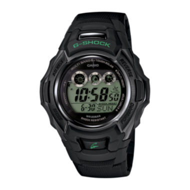 jcpenney.com | Casio® G-Shock Tough Solar Mens Black Resin Strap Sport Watch GWM500F-1CCR
