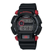 Casio® G-Shock Mens Black Resin Strap Sport Watch DW9052-1C4CR
