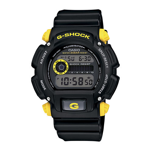 Casio® G-Shock Mens Black Resin Strap Sport Watch DW9052-1C9CR