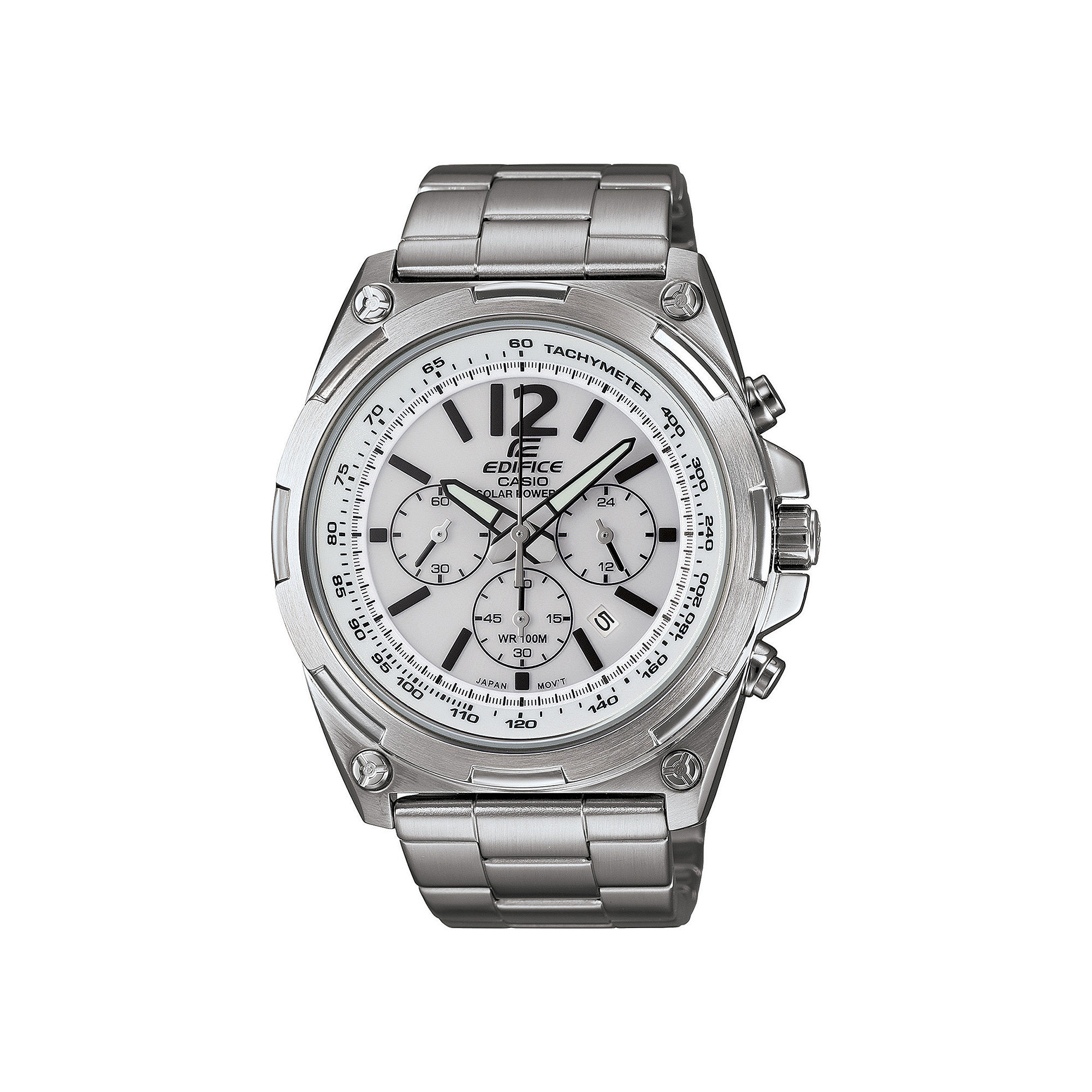 Casio Edifice Tough Solar Mens Stainless Steel Watch EFR545SBD-7BVCF