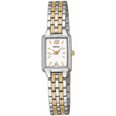 jcpenney.com | Seiko® Womens Two Tone Quartz Dress Watch SXGL59