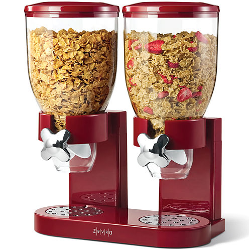 Zevro® Original Indispensable Double Cereal Dispenser