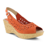 Spring Step Chaya Slingback Wedge Sandals