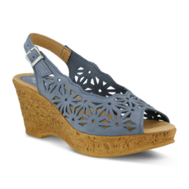 jcpenney.com | Spring Step Abigail Slingback Wedge Sandals