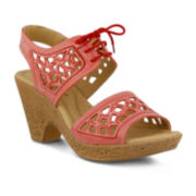 Spring Step Lamay Heeled Sandals
