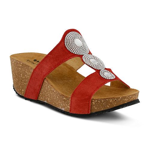 Spring Step Tada Wedge Sandals