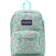 Jansport® Superbreak Grey Rabbit Sylvia Dot Backpack