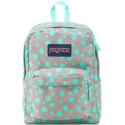 Jansport® Superbreak Grey Rabbit Sylvia Dot Backpack