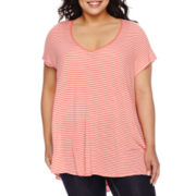 Decree® Short-Sleeve Swing Tee - Plus