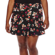 Decree® Knit Skater Skirt - Juniors Plus
