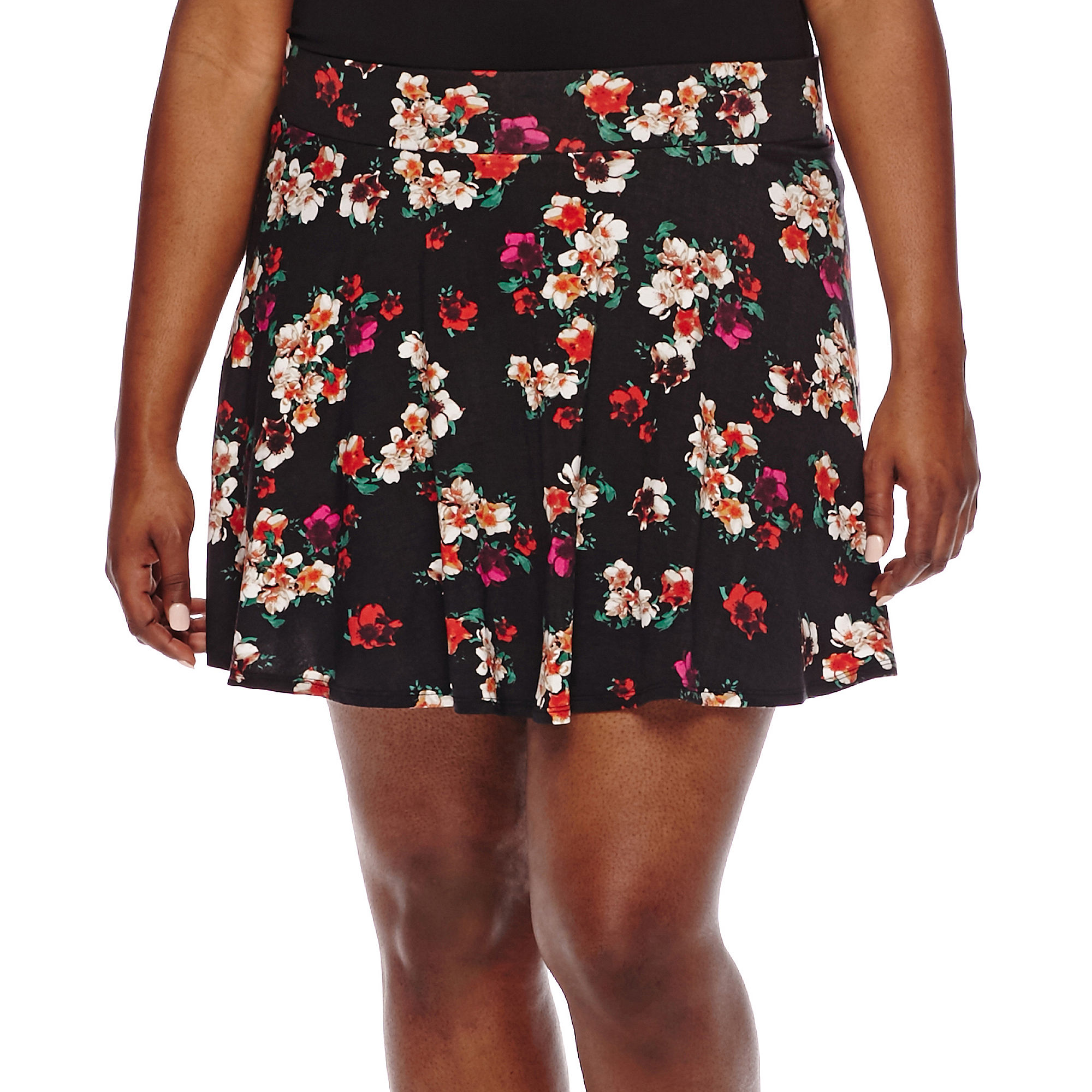 Decree Knit Skater Skirt - Juniors Plus plus size,  plus size fashion plus size appare