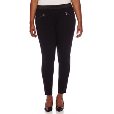jcpenney.com | Decree® Pull-On Skinny Pants - Plus