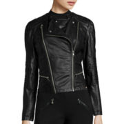 Decree® Pleather Moto Jacket