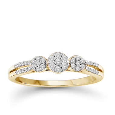 jcpenney.com | Diamond 10K Yellow Gold Ring