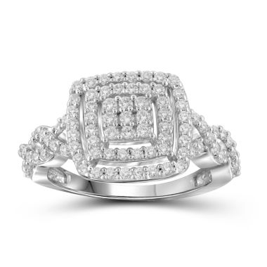 jcpenney.com | 1 CT. T.W. Diamond 10K White Gold Ring