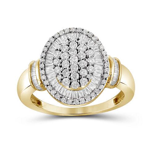 1 CT. T.W. Diamond 10K Yellow Gold Ring