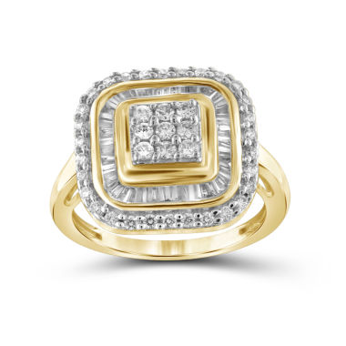 jcpenney.com | 1 CT. T.W. Diamond 10K Yellow Gold Ring