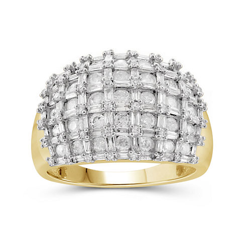 2 CT. T.W. Diamond 10K Yellow Gold Ring