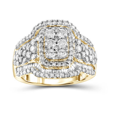 jcpenney.com | 2 CT. T.W. Diamond 10K Yellow Gold Ring