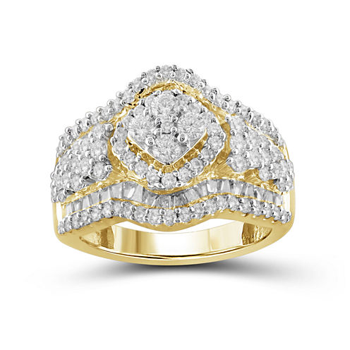 2 CT. T.W. Diamond 10K Yellow Gold Ring