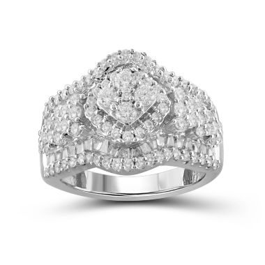 jcpenney.com | 2 CT. T.W. Diamond 10K White Gold Ring