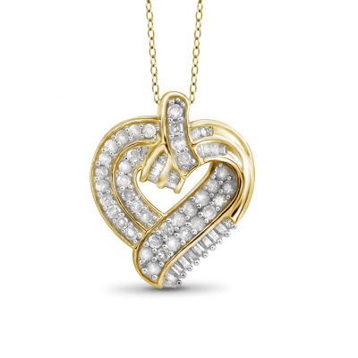 floating gold by diamond cttw watches wg pendant jewelry tdw dazzling white product life more