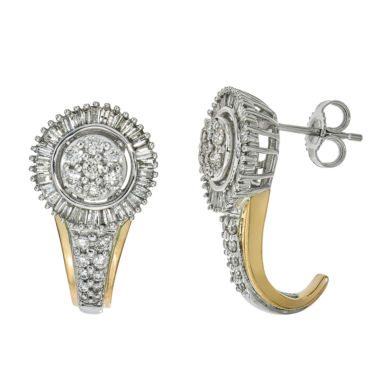 jcpenney.com | diamond blossom 1CT. T.W. Diamond 10K Yellow Gold Earrings