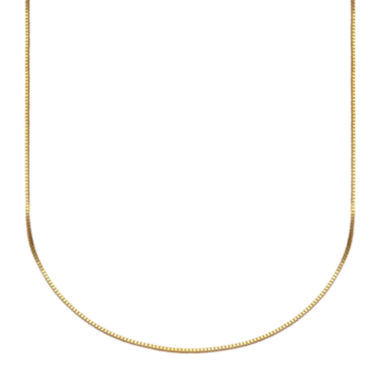 jcpenney.com | Made in Italy 10K Gold Venetian Box Chain Necklace, 20""