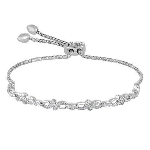 Rhythm and Muse Diamond In Sterling Silver Bracelet