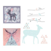 2-pc. Canvas Art + Wall Decals - Sparrow