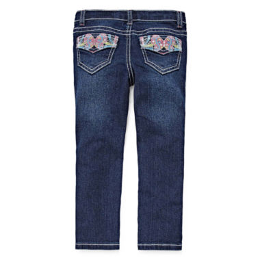 jcpenney.com | Arizona Butterfly Back Pocket Jeans - Toddler Girls 2t-5t