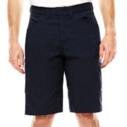 Red Kap® Scratchless Shop Flat-Front Shorts