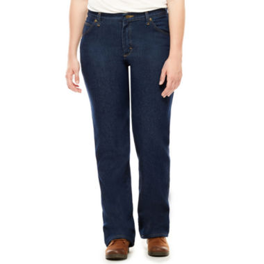 jcpenney.com | Red Kap® Womens Straight-Leg Jeans - Petite