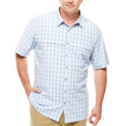 Van Heusen® Short-Sleeve Traveler Shirt - Big & Tall