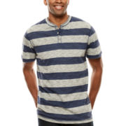 Lee® Striped Henley Tee - Big & Tall