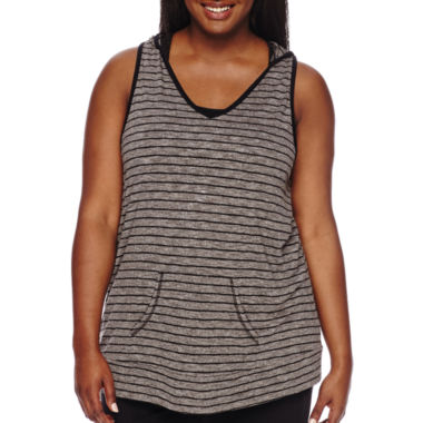 jcpenney.com | City Streets® Sleeveless Hoodie - Juniors Plus
