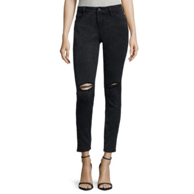 jcpenney.com | Decree® Destructed Skinny Jeans