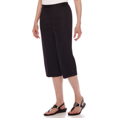 jcpenney.com | Alfred Dunner® Sao Paolo Pull-On Capris - Petite