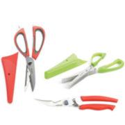 Mastrad® Set of 3 Kitchen Scissors