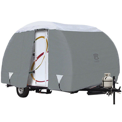 Classic Accessories 80-200-161001-00 PolyPro III R-Pod Travel Trailer Cover, Model 3