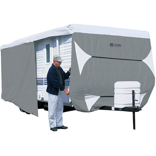 Classic Accessories 73363 PolyPro III Travel Trailer & Toy Hauler Cover, Model 3