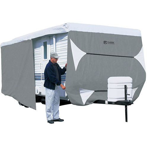 Classic Accessories 73763 PolyPro III Travel Trailer & Toy Hauler Cover, Model 7