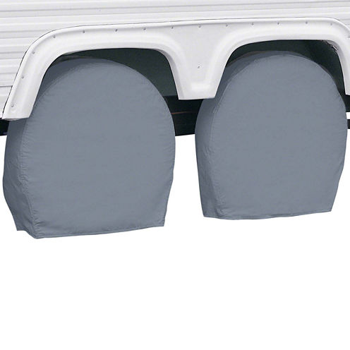 Classic Accessories 80-087-191001-00 RV Wheel Covers, Model 6